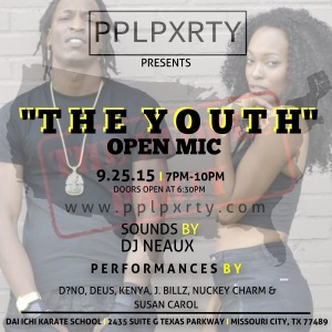 THE YOUTH_ open mic