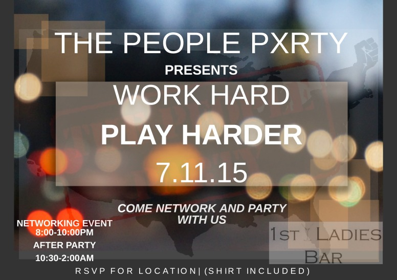 1st annual event: Work Hard, Play Harder